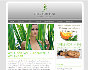 Well for you Kosmetik
